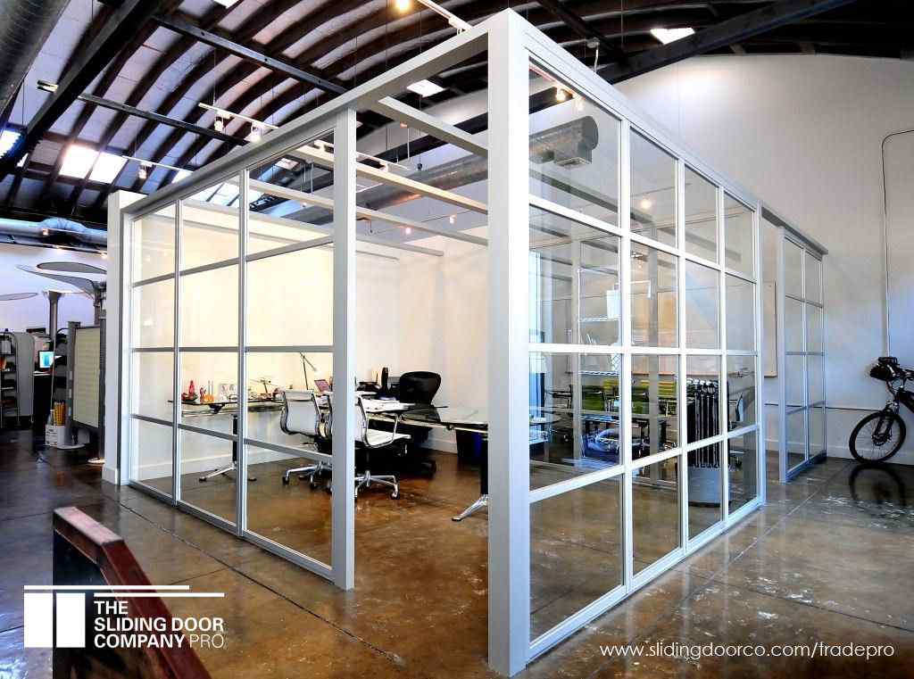 Open Air Partition Clear Glass