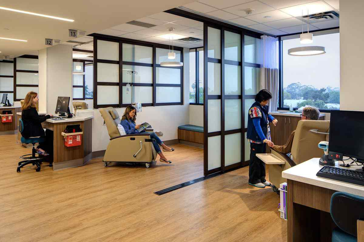 medical infusion rooms hospital in San Diego