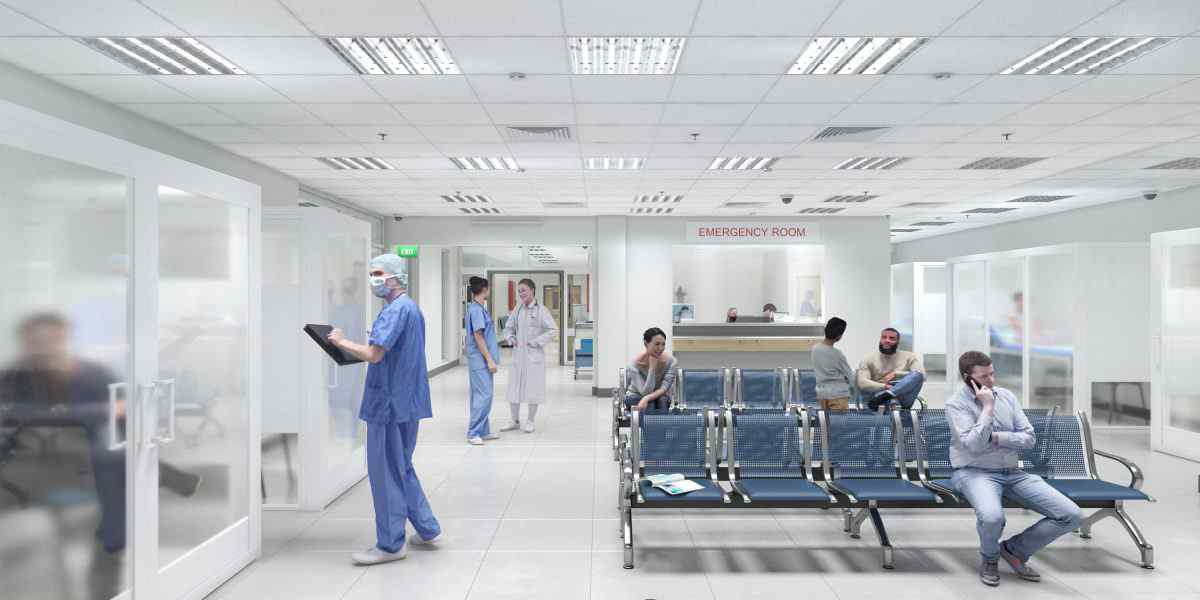 Medical facility space wall dividers