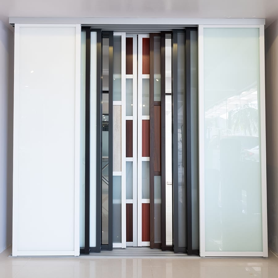 A sample selection of different custom doors