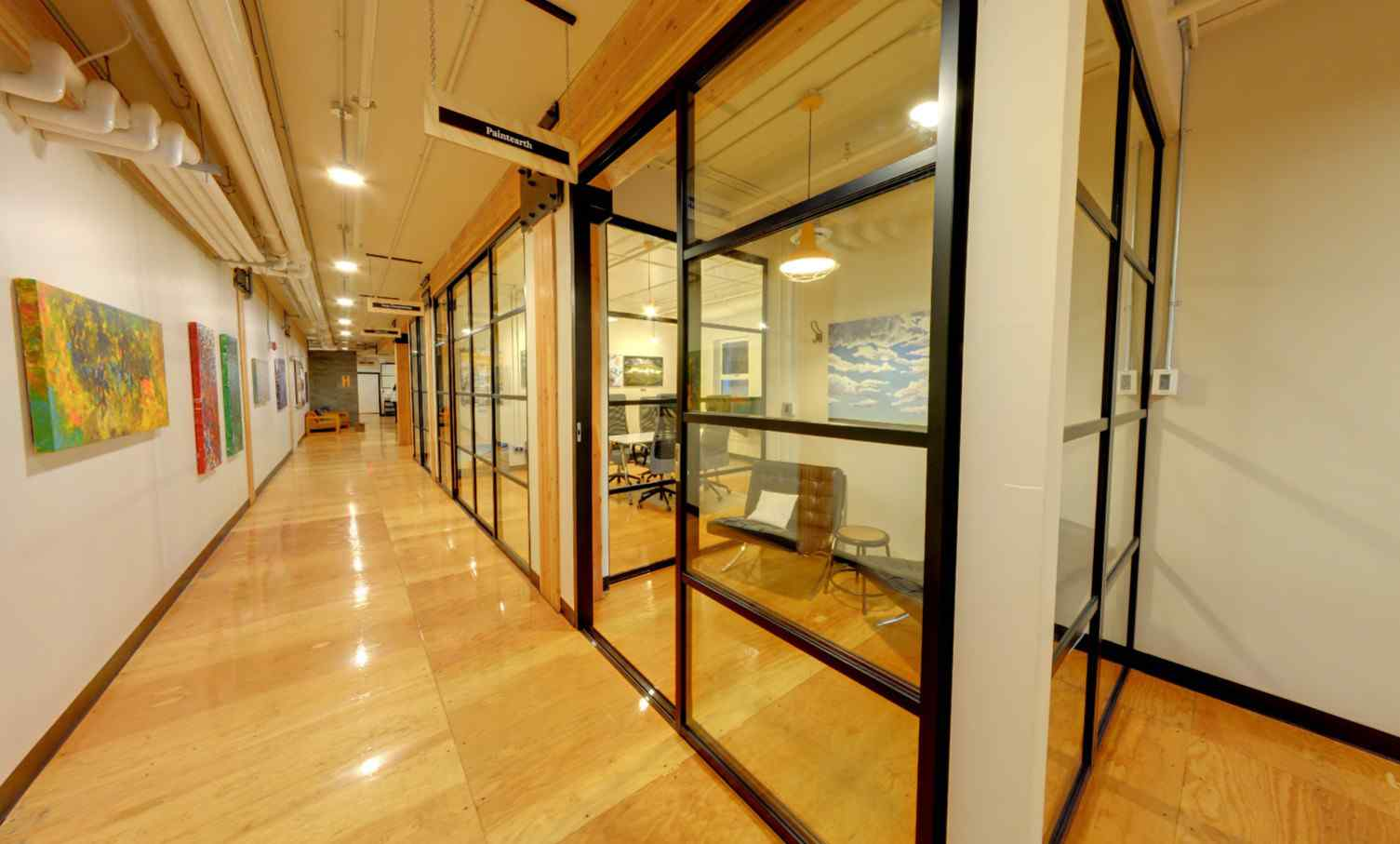 Homestead Coworking Office Fronts Black Clear Quattro