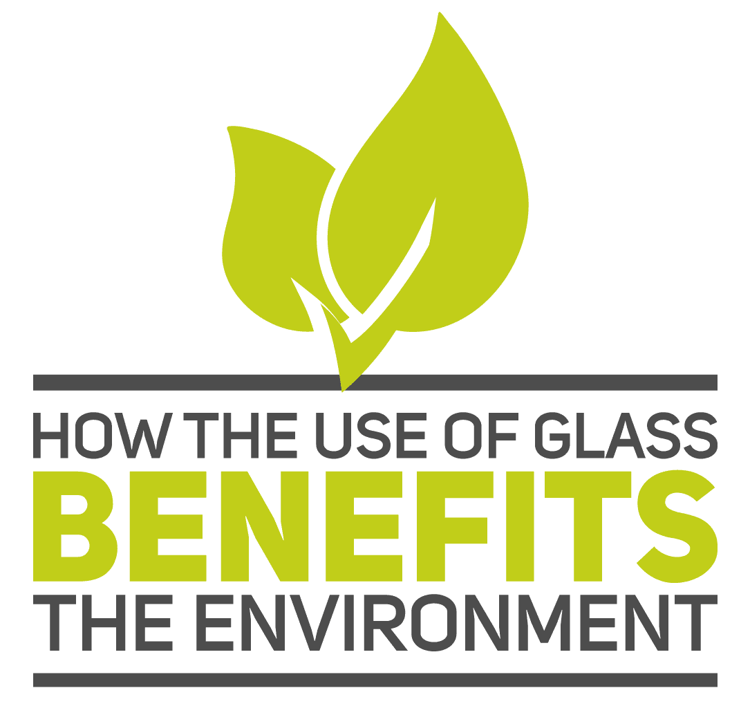 Use of Glass Benefits the Environment