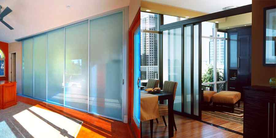 Residential living space divider