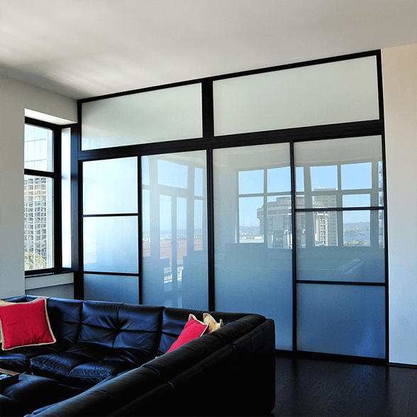 residential glass wall dividers