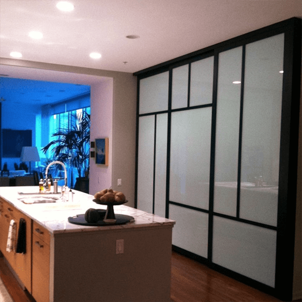 residential wall divider