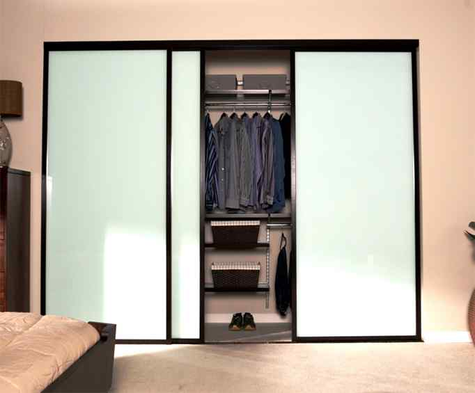 residential closet doors mens storage