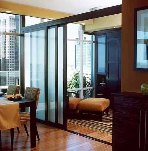 room divider loft apartment condo multiunit residential partition