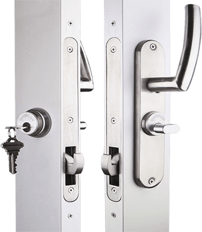 sliding door mortise latch ada